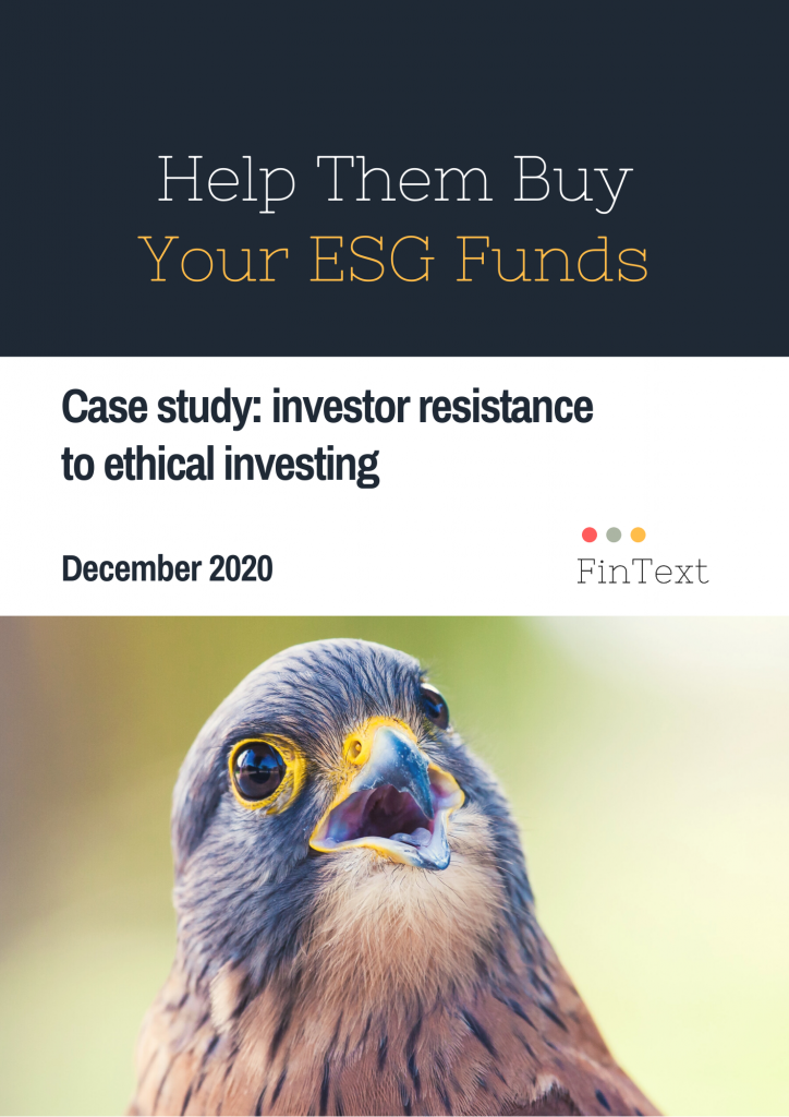 What retail investors say on buying ESG funds